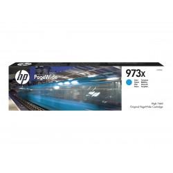 HP 973X - à rendement élevé - cyan - originale - cartouche d'encre