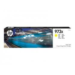 HP 973X - à rendement élevé - jaune - originale - cartouche d'encre