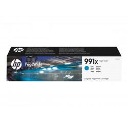 HP 991X - à rendement élevé - cyan - originale - PageWide - cartouche d'encre
